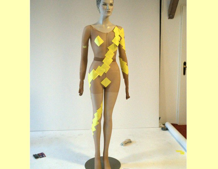 Making-Of: Post-It-Outfit